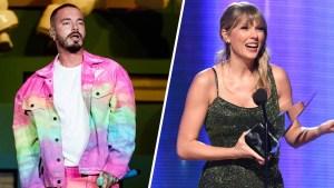 J Balvin triunfa en los AMAs; Taylor Swift rompe récord