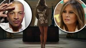 Causa revuelo parodia de rapero sobre Melania Trump