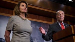 Pelosi y Schumer: reacción de Trump contradice reporte