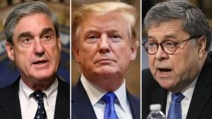 """Trump y el reporte de Mueller: """"no debería haber ocurrido"""""""