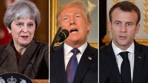 EEUU y aliados bombardean Siria tras ataques químicos