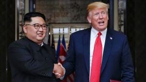 Trump da fecha y lugar para nueva cumbre con Kim