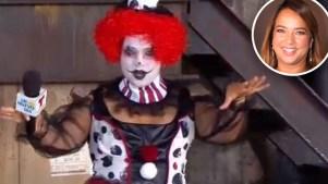 Payasa asesina: el espeluznante disfraz de Adamari para Halloween