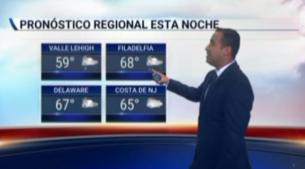 <p>Temperaturas en los altos 60 grados para la zona de Filadelfia. Se espera lluvias y nubosidad para el d&iacute;a viernes.</p>