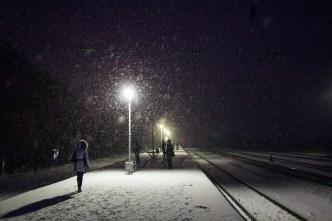 Nieve ligera en la región para el fin de semana