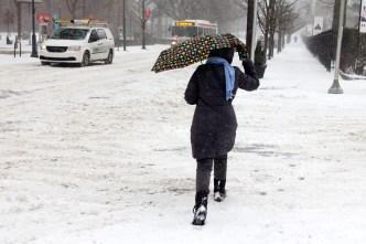 Amenaza invernal: descarga de nieve, lluvia y aire ártico