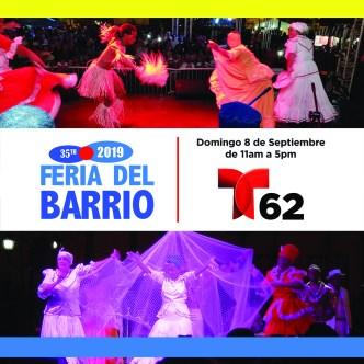 Magna celebración cultural en Feria del Barrio 2019