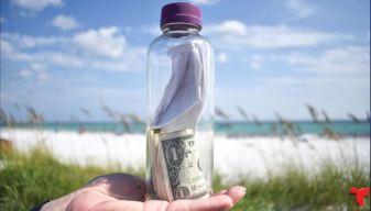 Conmovedora historia tras botella con cenizas hallada en una playa