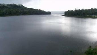 Por seguridad abren las compuertas de la represa Guajataca