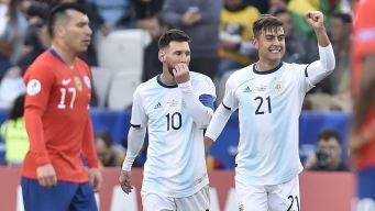 Argentina conquistó el tercer lugar, pero Messi fue expulsado