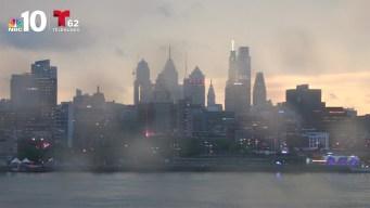 Filadelfia se ilumina con relámpagos