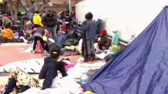 Familias inmigrantes se manifiestan contra ICE