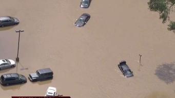 Impactantes imágenes de los destrozos por las inundaciones