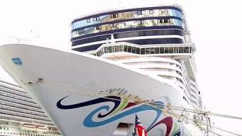 Crucero impacta y destruye muelle de Puerto Rico