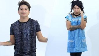 Comediante mexicano halla la fama imitando a su madre