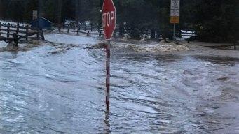 Riesgo de inundaciones localizadas en la región