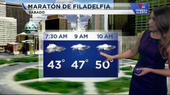 Pronóstico para el maratón de Filadelfia.
