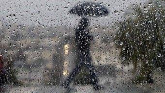 Larga jornada de lluvia en toda la región