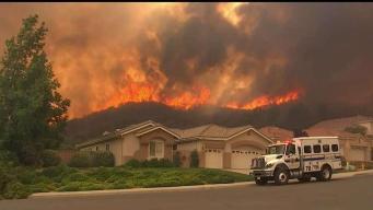 Bomberos logran progresos con Incendio Tenaja