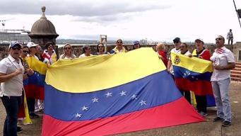 Emocionados venezolanos por ayuda de Puerto Rico