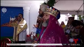 Viva la tradición de Los Reyes Magos en Juana Díaz