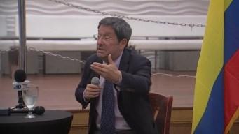 Embajador colombiano habla de crisis venezolana