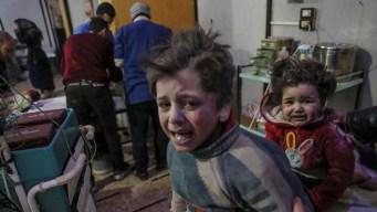 Bombas dejan casi 100 muertos en Siria: niños incluídos