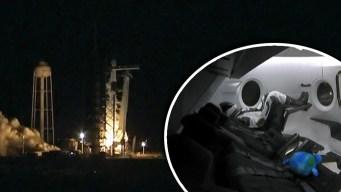 Despegue crucial acerca vuelos comerciales al espacio