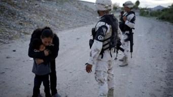 Ruego de madre migrante a guardias se vuelve viral
