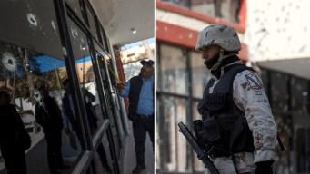 """Paso a paso, cómo fue la """"narcobatalla"""" en México"""