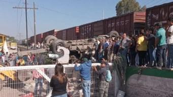 Quiso ganarle al tren: van 9 muertos y 13 heridos