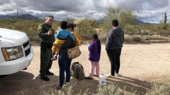 EEUU espera reducción de los cruces fronterizos en junio