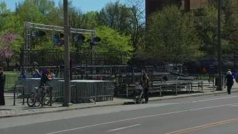 Cierre de calles por anuncio de los Phillies