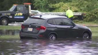 Recuento de daños por inundaciones