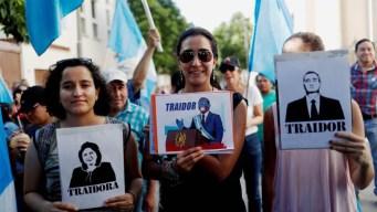 Guatemala: protestan contra acuerdo de asilo con EEUU