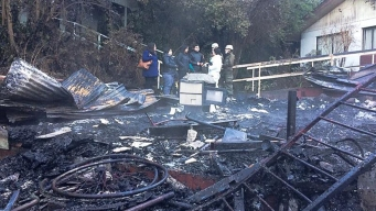 Mortal incendio arrasa con un hogar de ancianos en Chile