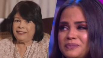 Natti Natasha llora con mensaje de su querida madre