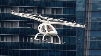En pleno vuelo: así funciona este innovador taxi aéreo