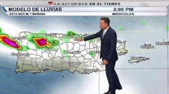 Pronóstican miércoles lluvioso
