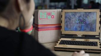 Así funciona la Wawalaptop, la portátil ecológica