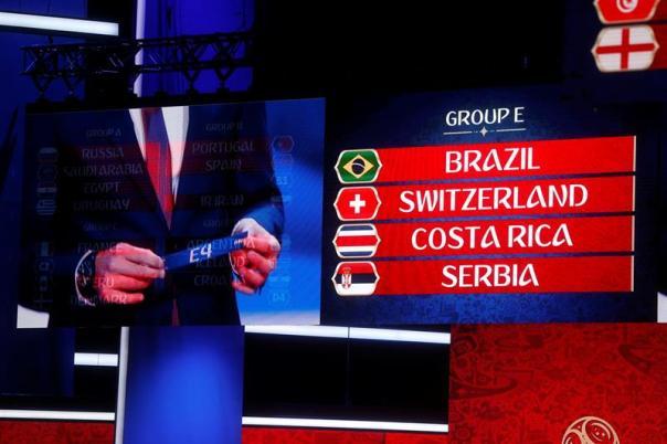 Así fue el sorteo para la Copa Mundial Rusia 2018