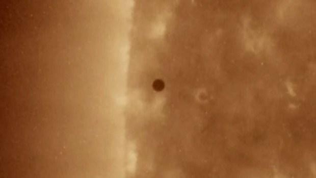 Increíble: así pasó Mercurio sobre el Sol