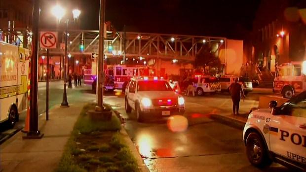 33 heridos tras choque de trenes en Upper Darby
