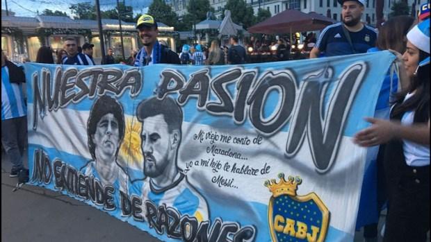 [World Cup 2018 PUBLISHED] La nueva canción de los argentinos para el Mundial