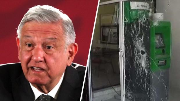 [TLMD - McAllen] AMLO reacciona a enfrentamientos del cártel en Coahuila