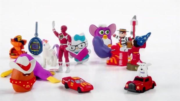 [TLMD - NATL] Con juguetes retro celebraran 40 años de menú infantil