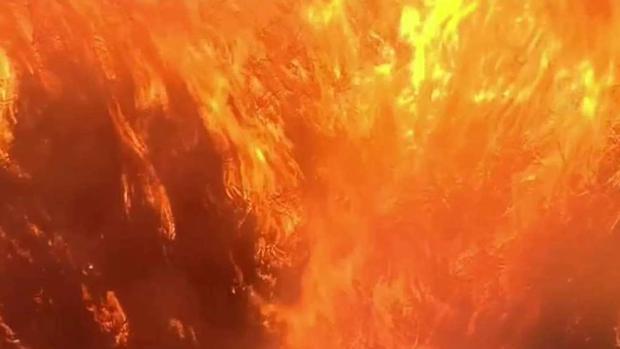 Las llamas causan estragos en el sur de California