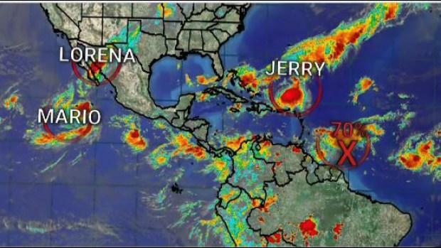 [TLMD - LV] Kiko, Mario, Lorena y Jerry: las tormentas tropicales actuales