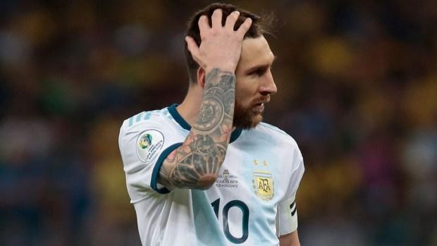 [Copa America] La marca negativa que Messi comparte con Pelé y Maradona en Copa América