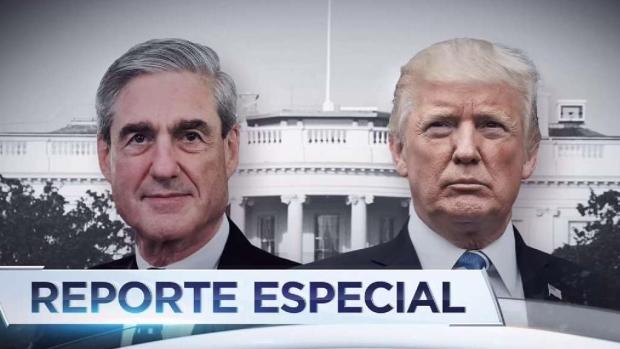 Mueller no halló conspiración entre Trump y Rusia